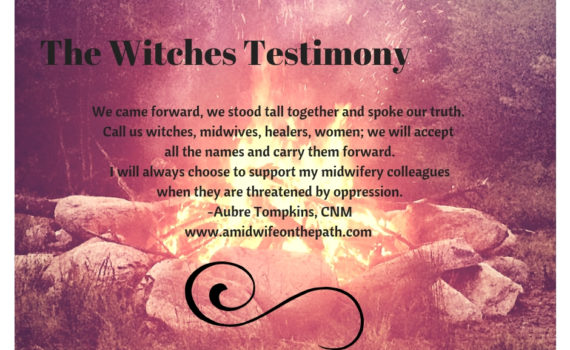 Witches testimony